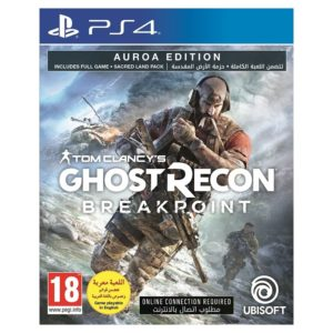 PS4 Ghost Recon Breakpoint Auroa Edition Game