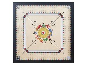 Rock Paper Scissors Carrom Game [Assorted - Includes 1]