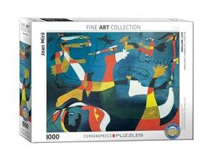 Eurographics Swallow Love By Joan Miro 1000 Pcs Jigsaw Puzzle