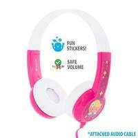 BuddyPhones - Connect On-Ear Wired Headphones Pink...