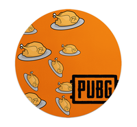 Loud Universe - Mouse Pad Round Pubg Chicken Dinner ...