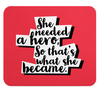 Loud Universe - Mouse Pad Rectangular Hero She Is A ...