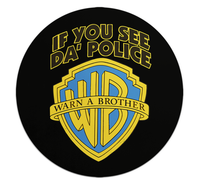 Loud Universe - Mouse Pad Round Warner Brother Polic...