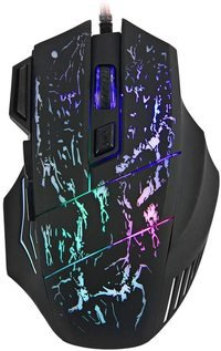 3200DPI 7 Buttons LED USB Wired Gaming Mouse Compati...