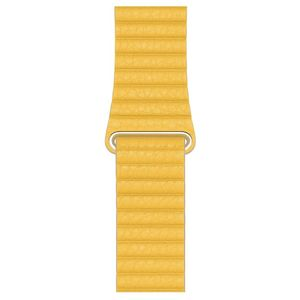 Apple 44mm Meyer Lemon Leather Loop Large for Apple Watch