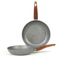 TVS - Mineralia Frying Pan Set 24 cm & 28 cm...