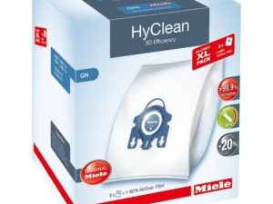 Miele Allergy XL HyClean 3D GN dustbags (8 bags