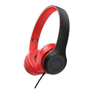 Borofone BO5 Star Sound Wired Headphones with Mic Black/Red