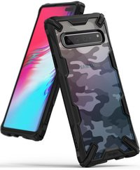 Ringke - Case for Samsung Galaxy S10 5G Fusion-X Des...