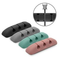 Ringke Cable Clips Cord Management (4 Pack) TPU Sili...