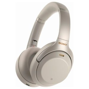 Sony WH-1000XM3 Wireless Noise-Cancelling Bluetooth Over-Ear Headphones With Mic For Phone Call