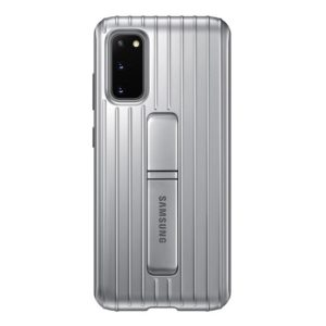 Samsung Galaxy S20 Protective Cover - Silver