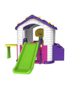 Toy Monarch Pink Play House With 3 Activities