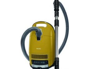 Miele Bagged Vacuum Cleaner Complete C3 Allergy Curry Yellow