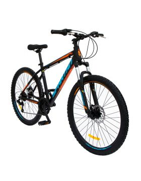"Spartan 26"" Master Moutain Bicycle MTB Black"