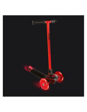 Neon Glider Air LED Light Up Lightweight Kids Scooter Red