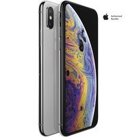 Apple iPhone XS 64GB Silver + (Free 1 Year Apple TV+...