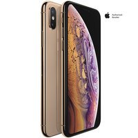 Apple iPhone XS 64GB Gold + (Free 1 Year Apple TV+ S...