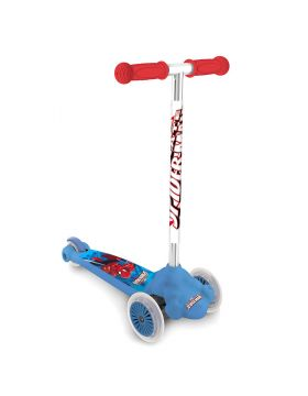 Mondo Marvel Ultimate Spider-Man Scooter Twist & Roll Blue