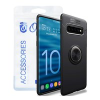 Ozone - Galaxy S10 Mobile Cover Slim Magnetic Ring S...