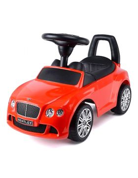 Megastar Ride Ons Licensed Push On Bentley Buggy Red