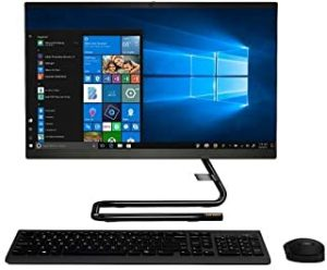 "Ideacentre A340 (22) all-in-one i5-9400 8GB RAM 1TB HDD 21.5"" Multi Touch Black with Wireless Keyboard and Mouse"