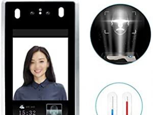 Face Recognition Non-Contact Thermal Imaging Camera Human Body Temperature Indicator Thermal Binocular Camera for Fever Detection