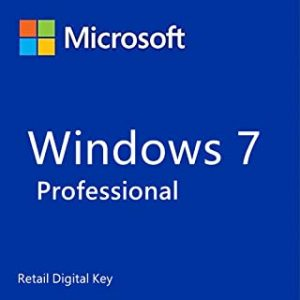 Windows 7 Professional Retail Digital Key
