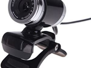 Docooler USB 2.0 50 Megapixel HD Camera Web Cam with MIC Clip-on 360 Degree for Desktop Skype Computer PC Laptop Black