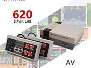 EU 620Games Mini TV Game Console 8 Bit Retro Classic Handheld Gaming Player AV Output Video Game Console Toys Built-In 500/620 Games