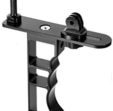 Aluminum Single Hand Diving Photography Bracket Handheld For DJI Osmo Action for Sports Camera Photography Diving Bracket 20cm Double Ball Head Lamp Arm