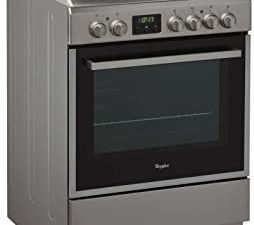 Whirlpool 60 X 60 cm 4 Radiant Cooking Zones Full Electric Cooker