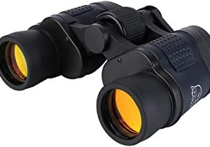 See Moon 60x60 binocular with coordinates night vision binoculars high power high definition red film telescope And