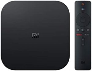 FJ Xiaomi Mi Box S 4K HDR Android TV with Google Assistant Remote Streaming Player