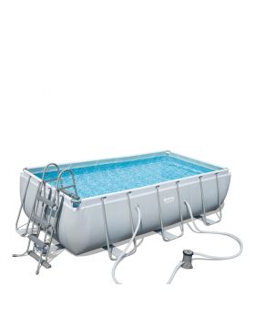 Bestway Power Steel Rectangular Frame Pool 404 x 201 x100cm