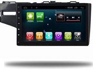 Android 8.1 Octa Core IPS Car Radio GPS Stereo Navi for Honda FIT 2014-2017 Head Unit In Dash Multimedia Video Player with Bluetooth WiFi BT Navigation (Android 8.1 4+64G FIT)
