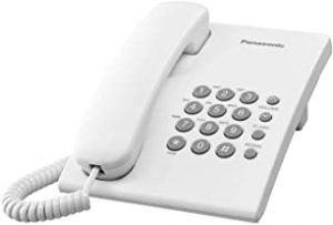 Panasonic KX-TS500 Integrated Corded Telephone White