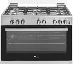 Veneto 90 X 60 cm 5 Gas Burners