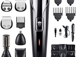 Docooler Professional Hair Trimmer 6 In 1 Hair Cutter Shaver Sets Electric Shaver Beard Trimmer Hair Cutting Machine