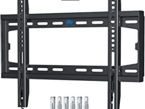 Mounting Dream TV Wall Bracket Fixed Mount Ultra Slim for Most 26-55 Inch LED