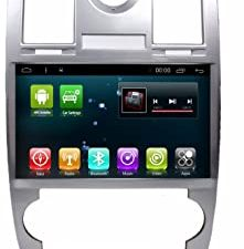 Android 8.1 IPS Car Radio GPS Stereo Navi for Chrysler 300C 2000-2014 Head Unit In Dash Multimedia Video Player with Bluetooth WiFi BT Navigation (Android 8.1 4+64G Chrysler 300C)