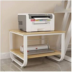 Printer Stands Home Wood Printer Stand Office Floor Printer Shelf Creative Copy Rack Multifunction Printer Fax Machine Stand Office Supplies Organizer (Color : E)