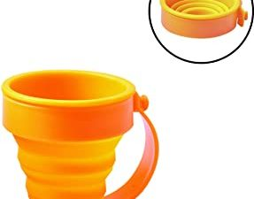 AceCamp 3.6 Oz Collapsible Silicone Cup with Handle