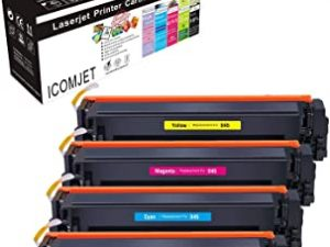 ICOMJET Compatible Toner Cartridge Replacement for Canon 045 045H CRG-045 work for Canon ImageCLASS MF634Cdw MF632Cdw LBP612Cdw MF633Cdw MF635Cx LBP611Cn MF613Cdw (Black