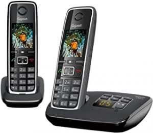 Gigaset C530A DUO Cordless Phone (Pack of 2) & 1 Answering Machine