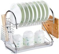 NuSense Multifunctional Bowl Storage Rack Draining B...