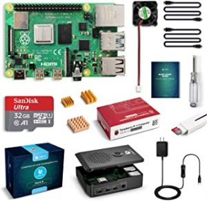 LABISTS Raspberry Pi 4 Complete Starter Kit with Pi 4 Model B 4GB RAM Board