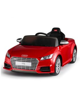RASTAR Ride On Audi Tts Roadster 12V 2 Motor Red
