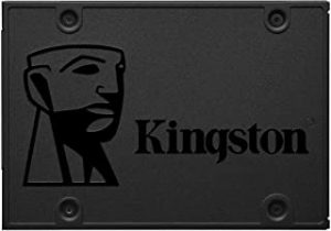 "Kingston A400 SATA3 2.5"" 480GB SSD (SA400S37/480G) Internal Memory Card"