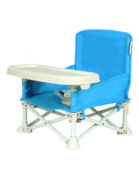 The Kids HQ Picnic Chair Booster Seat Sky Blue